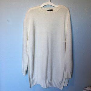 Zara knit ivory sweater